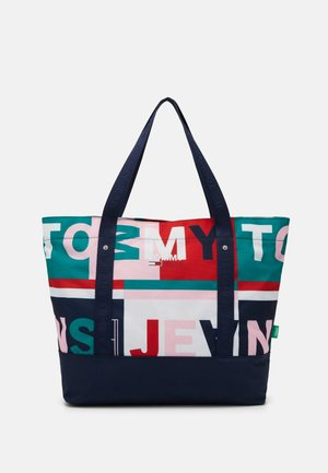 PRINTED TOTE - Shoppingveske - white