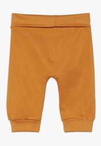 Sense Organics - SJORS BABY PANT 3 PACK - Pantalon classique - mustard/navy/grey melange - 1