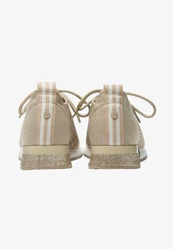 Trainers - nude silver