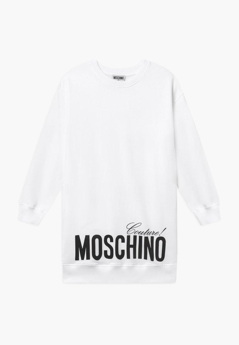 MOSCHINO - Denní šaty - white optic