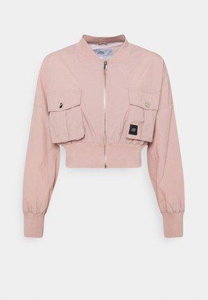 CARGO CROP JACKET - Bomber Jacket - pink