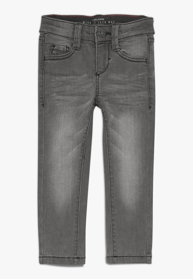 Jeans Skinny Fit - grey/black denim