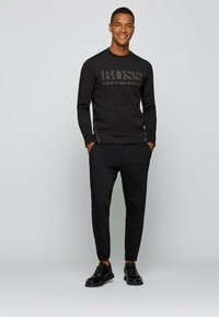 BOSS - SALBO ICONIC - Sweatshirt - black - 1