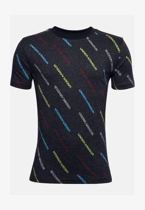 WORDMARK - Print T-shirt - black