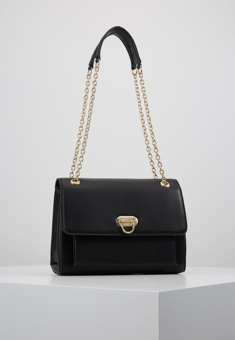 Forever New - ANGELA FLIP LOCK SHOULDER BAG - Across body bag - black