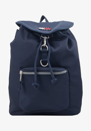 HERITAGE FLAP BACKPACK - Rucksack - blue