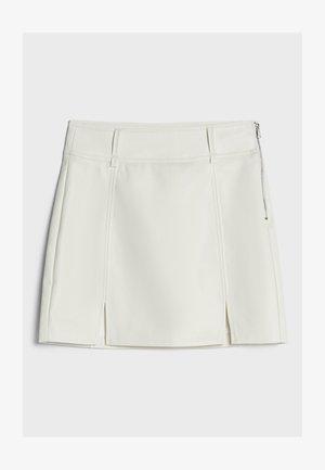 MIT REISSVERSCHLUSS  - Áčková sukně - stone