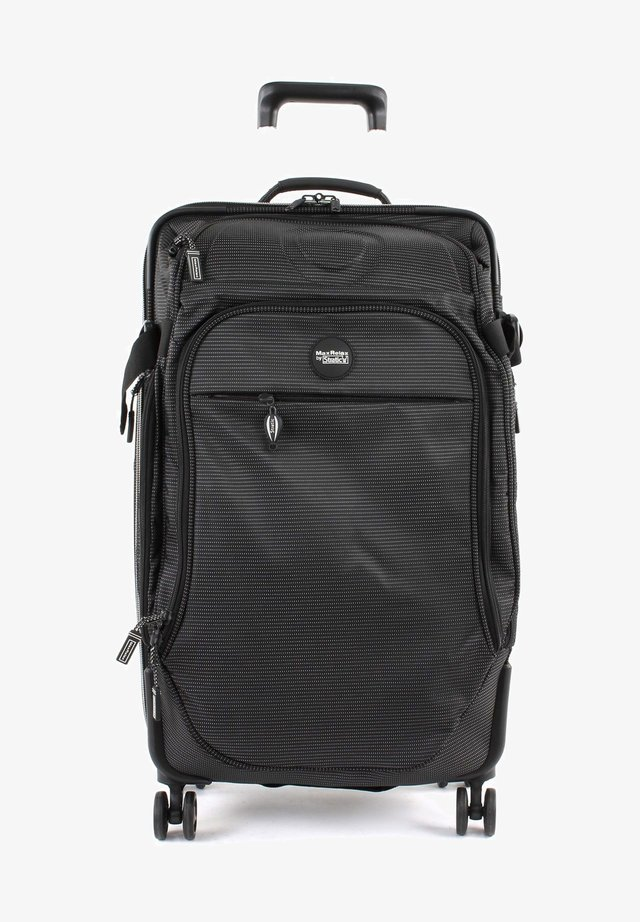 RELAX 2 MOVER - Wheeled suitcase - black-white