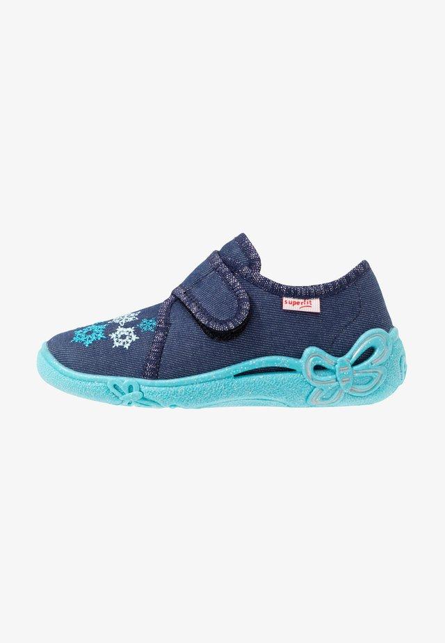 BELINDA - Domácí obuv - blau