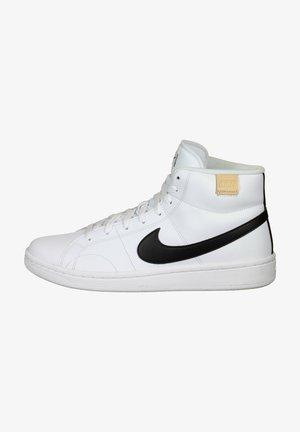High-top trainers - white / black / onyx