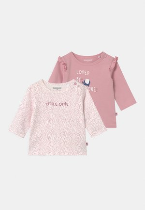 2 PACK - Long sleeved top - light pink