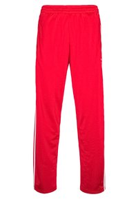 Tracksuit bottoms - scarle/white