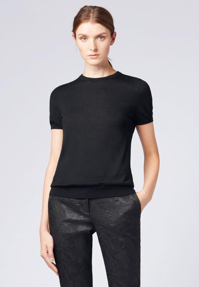 FALYSSA - T-Shirt basic - black