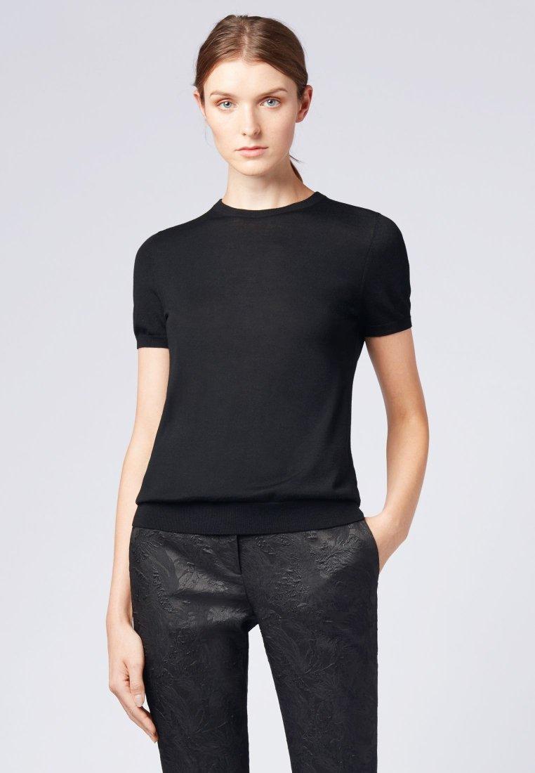 BOSS - FALYSSA - T-shirt basique - black