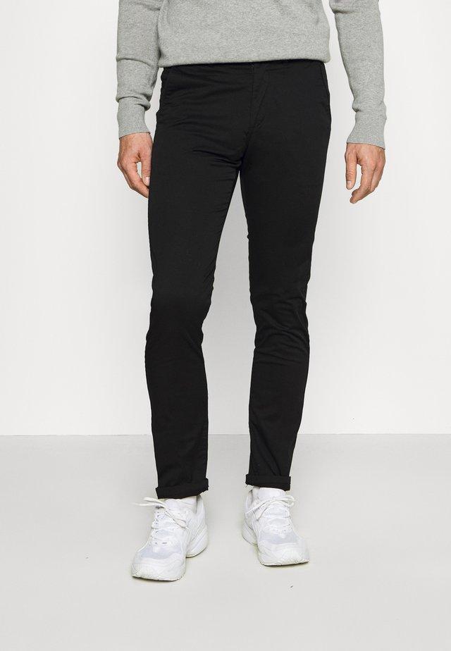SLIM LIGERO - Chino kalhoty - black