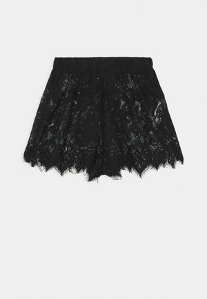 PREMIUM EYELASH SHORTS - Pyjama bottoms - black