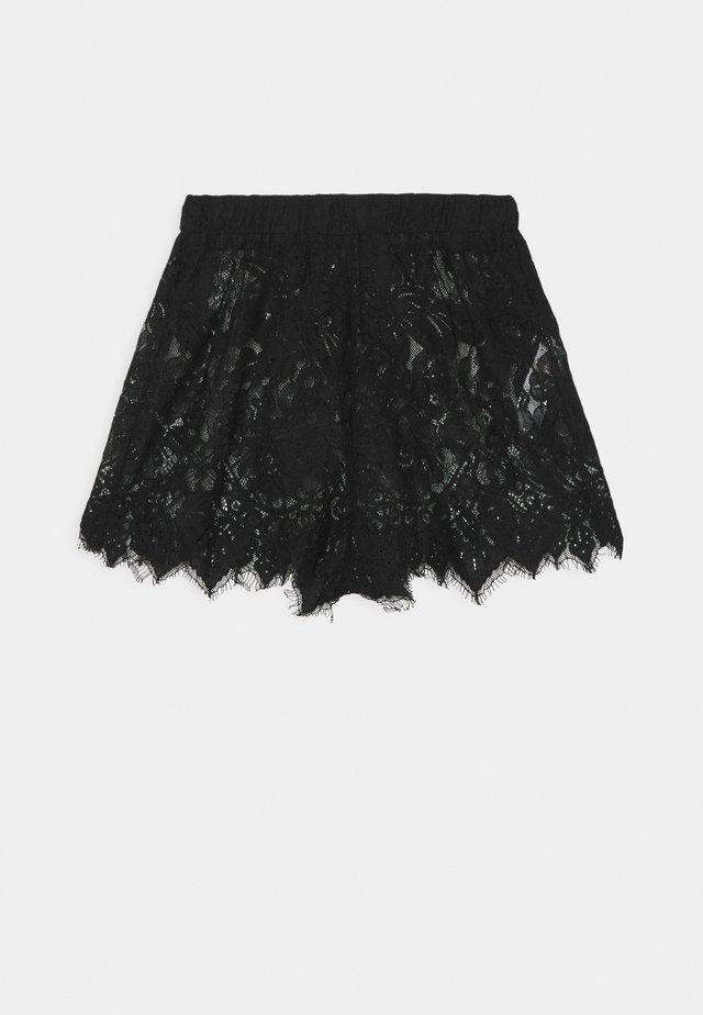 PREMIUM EYELASH SHORTS - Pyžamový spodní díl - black