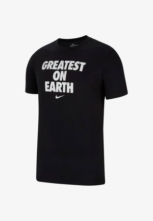 GREATEST ON EARTH - Print T-shirt - schwarz