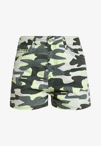 TWINTIP - Denim shorts - green - 3