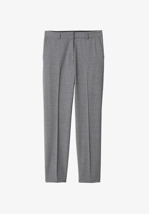 KAREN  - Trousers - grey melange