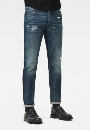 3301 SLIM RL - Jeans slim fit - antic gloaming blue restored