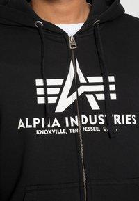 Alpha Industries - Vetoketjullinen college - black - 4