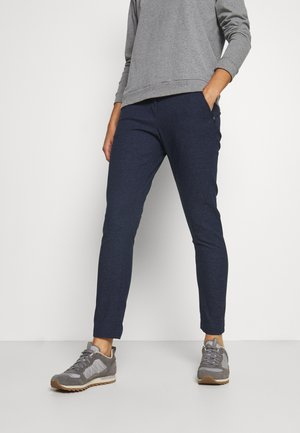 WINTER TRAVEL PANTS WOMEN - Friluftsbukser - midnight blue
