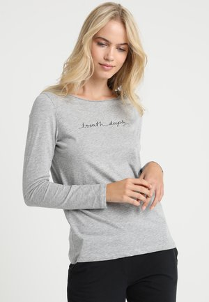 CREW NECK - Nattøj trøjer - grau meliert