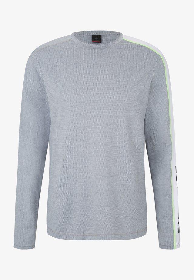 T-shirt à manches longues - hellgrau