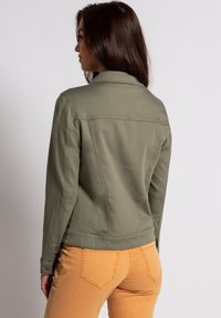 GINA LAURA - Denim jacket - khakigrün - 1
