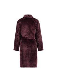 Hunkemöller - Dressing gown - red - 4