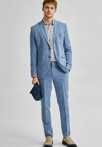 Selected Homme - Suit trousers - light blue - 4