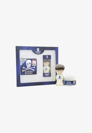 SHAVING CREAM BRUSH KIT - Shaving set - -