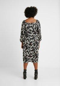 Glamorous Curve - ORIENTAL FLORAL MILKMAID DRESS - Day dress - oriental - 3