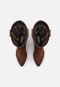 Felmini - WEST - Cowboy/Biker boots - marvin brown/vintage oiled - 5