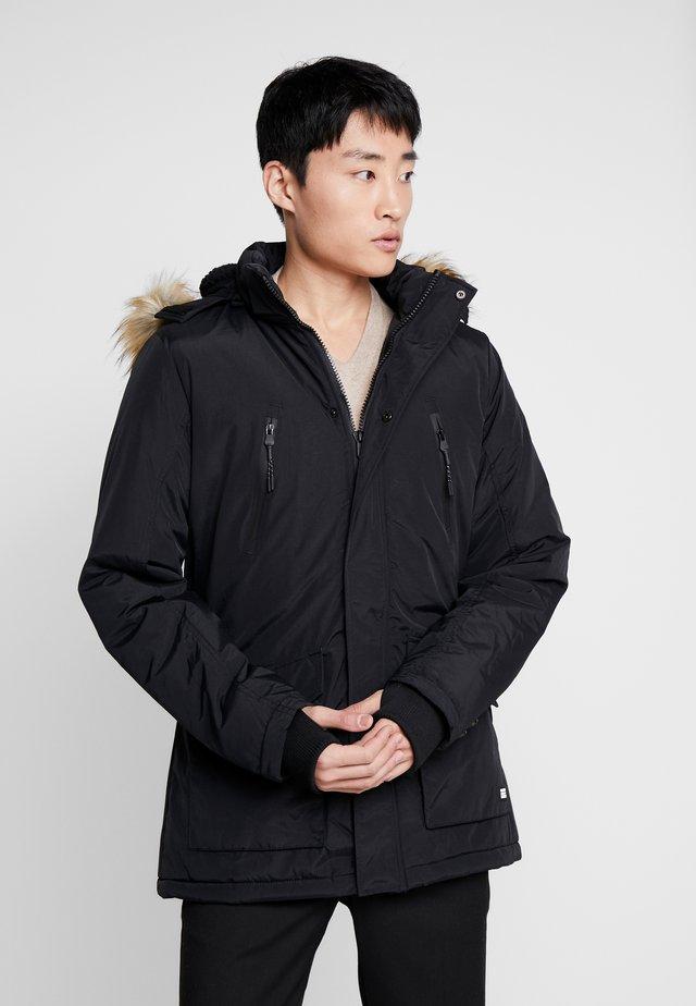 DEMSEY TASLON - Płaszcz zimowy - black