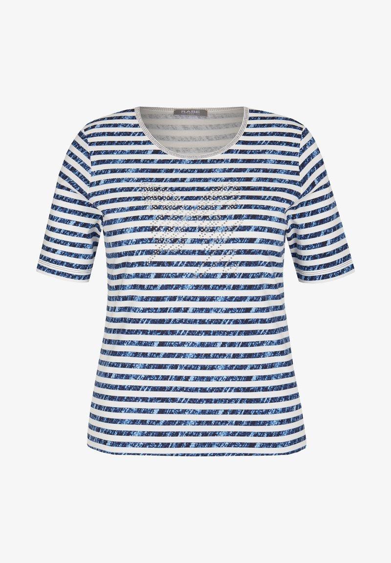 Rabe 1920 - Print T-shirt - blau