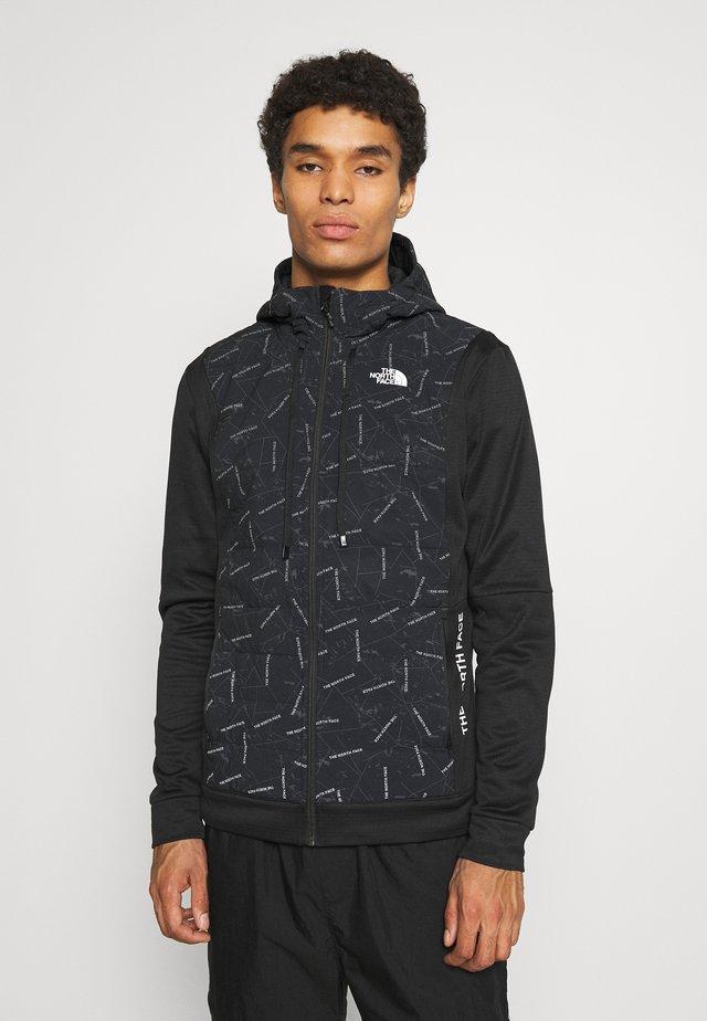 TRAIN LOGO HYBRID INSULATED JACKET - Light jacket - black