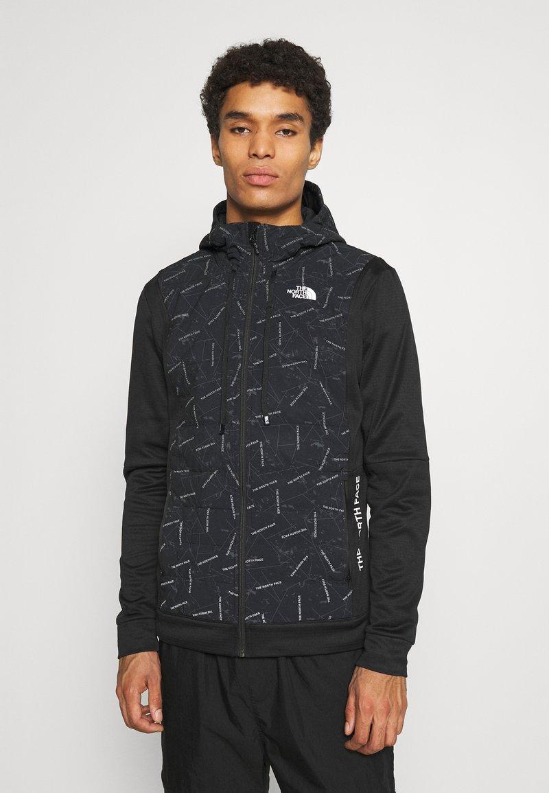 The North Face - TRAIN LOGO HYBRID INSULATED JACKET - Light jacket - black