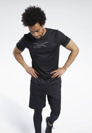 SMARTVENT GRAPHIC T-SHIRT - T-shirts print - black