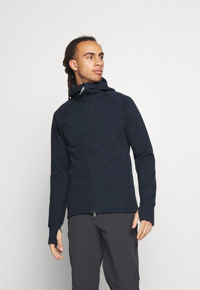 MONO AIR - Zip-up hoodie - blue illusion