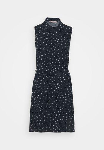 Vestido camisero - dark blue/light grey