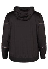 Active by Zizzi - Zip-up hoodie - black - 7