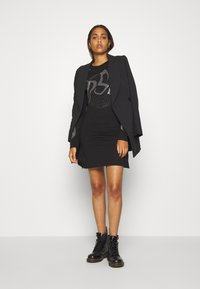 Diesel - T-ROSSINA T-SHIRT - Jersey dress - black - 1