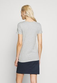 GAP - CREW 2 PACK - T-shirt basic - navy uniform/grey - 3