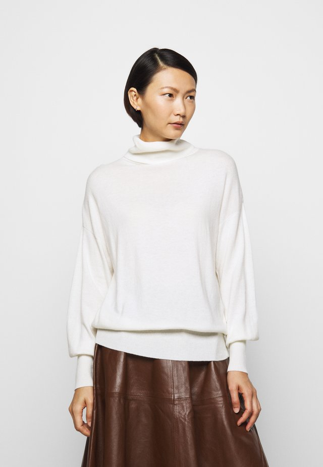 TURTLE NECK - Strickpullover - ivory