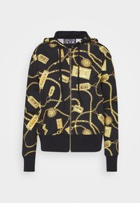 Versace Jeans Couture - Mikina na zip - black - 4