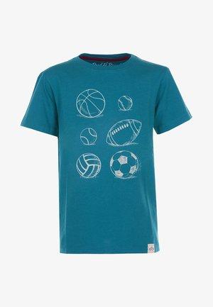 BALLS - T-shirt med print - petrol
