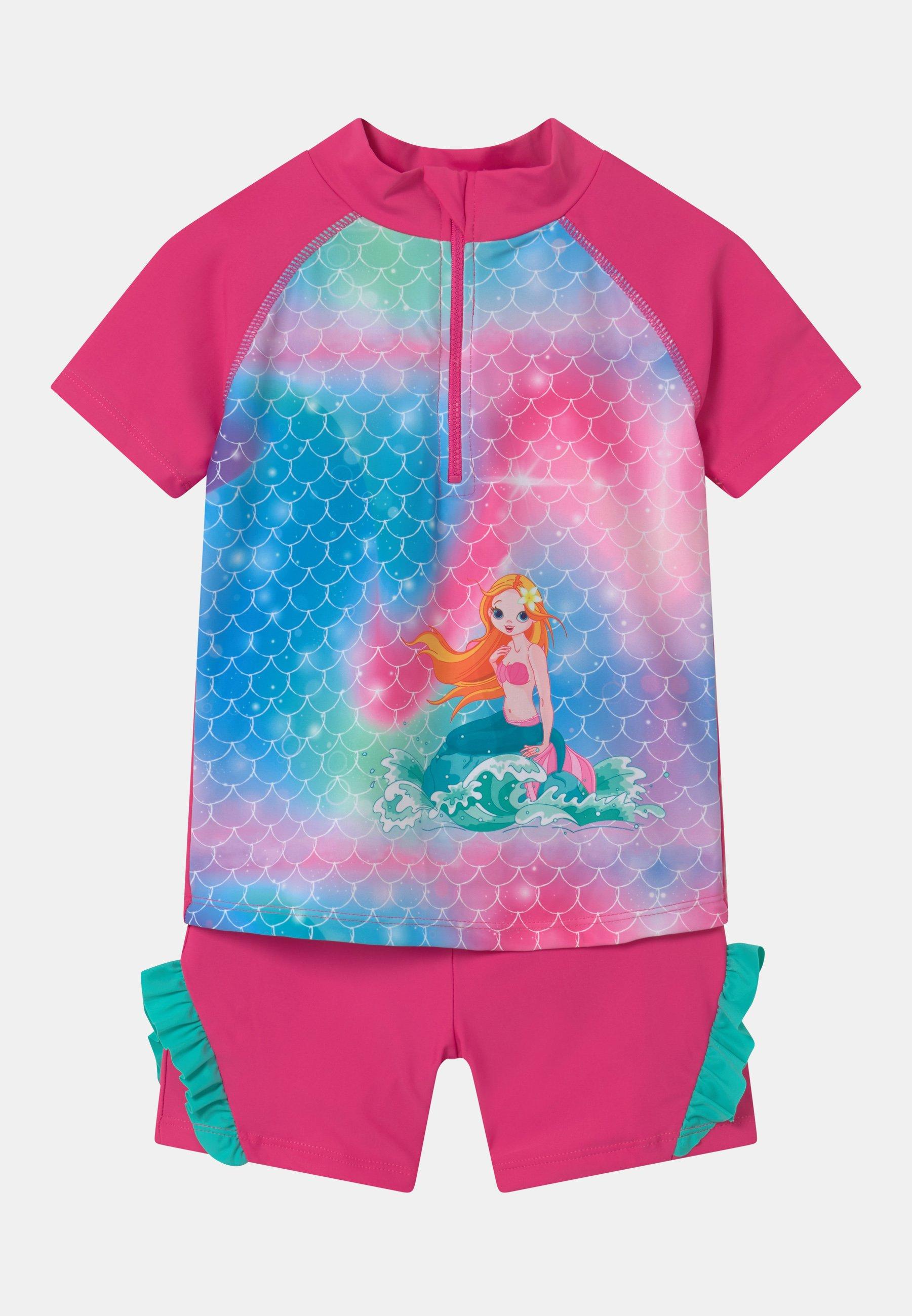 Kinder UV-SCHUTZ MEERJUNGFRAU SET - Badeanzug