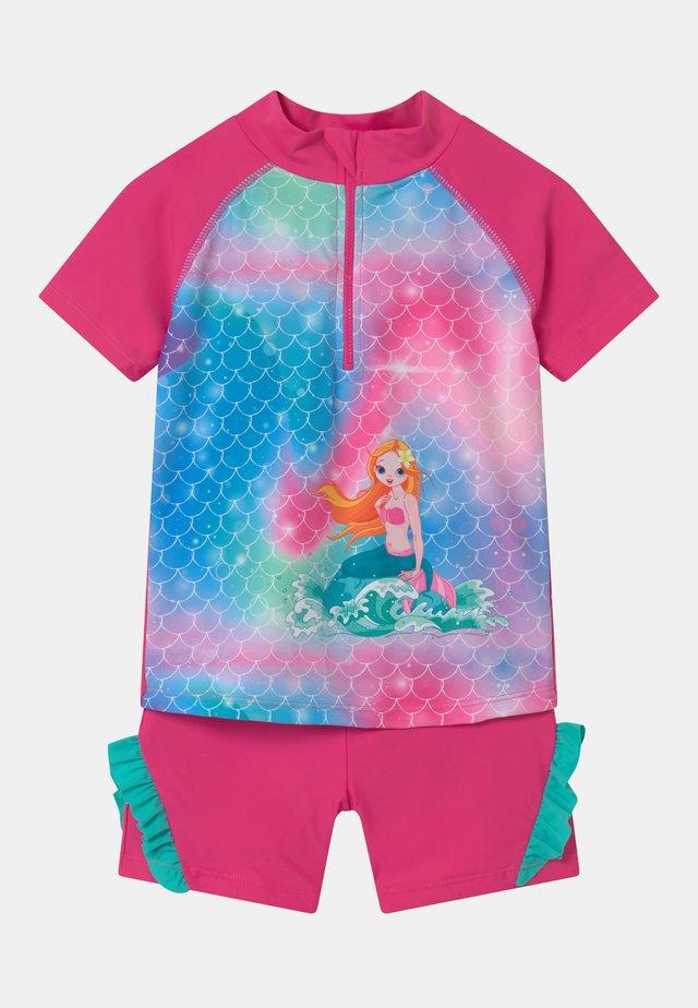 UV-SCHUTZ MEERJUNGFRAU SET - Costume da bagno - pink
